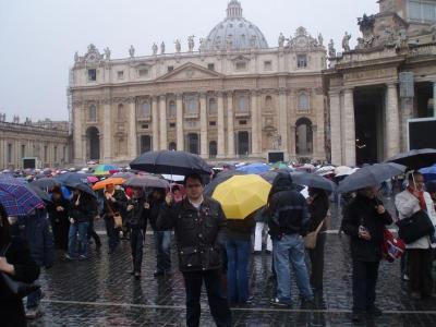 REYES EN ROMA Y EN EL VATICANO